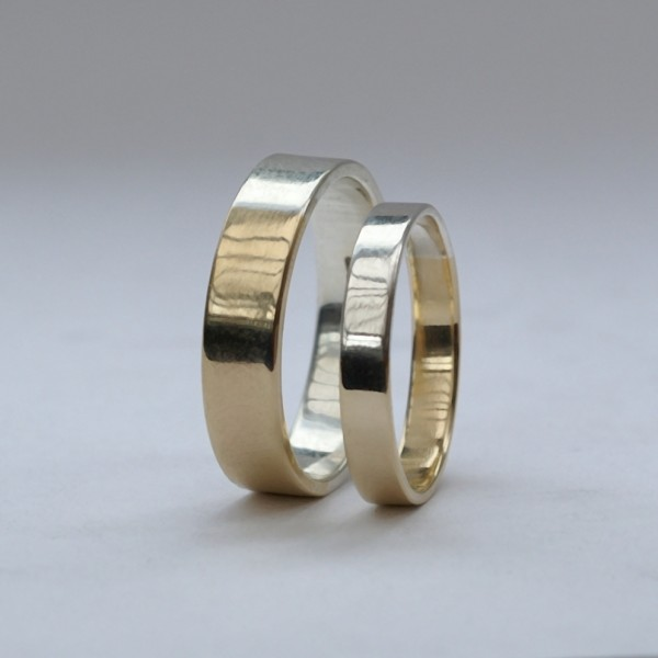 Golden Ratio – Set 5 mm and 3mm Gold + Silver