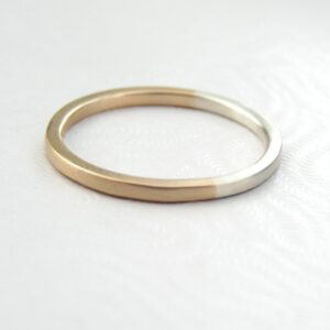 Golden Ratio – 1.5 mm 9k Gold + Silver