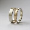 Golden Ratio Set – 9k Yellow Gold + White Gold
