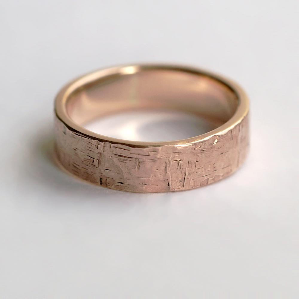 Rock wedding rings