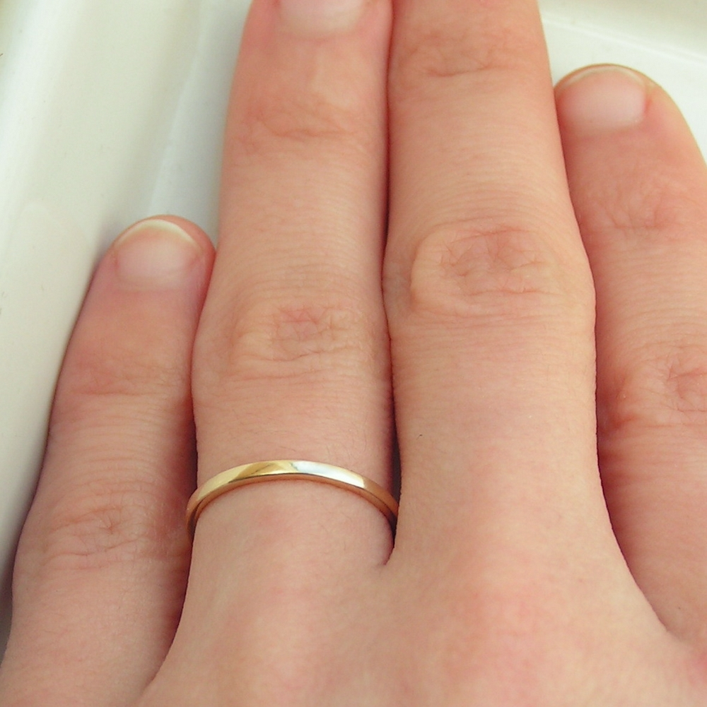 gold band diamond simple yourkitchenstore bands ring
