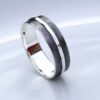Textured – 6mm Silver