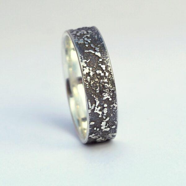 Silver Chaos – Oxidized Finish