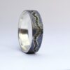 River Ring – Sterling Silver and 18k Gold