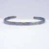 Gold Heart Cuff Bracelet