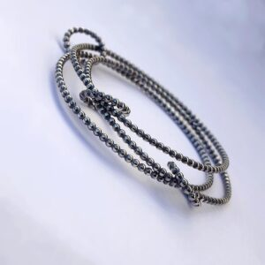 Interlocking Bangle Bracelet