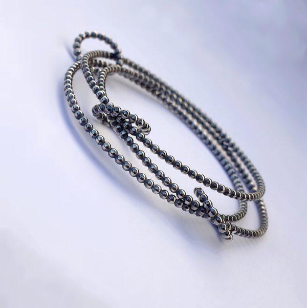 Interlocking Bangle Bracelet