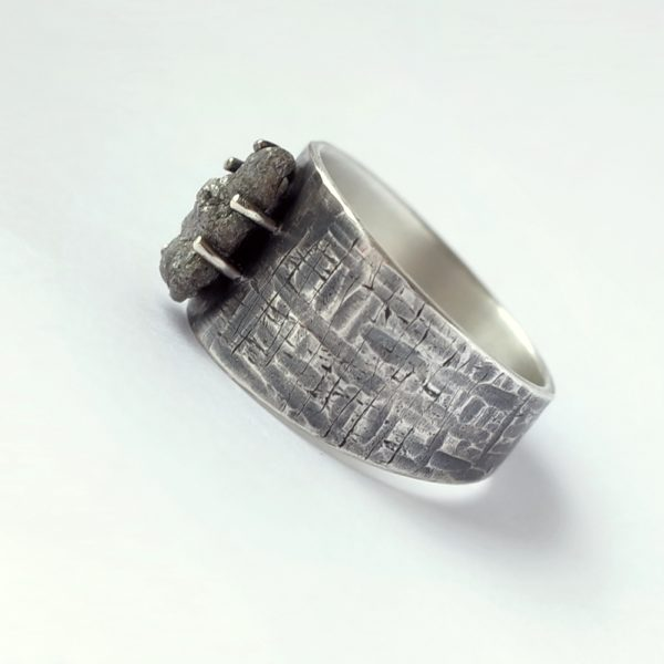 Huge Rough Diamond Ring