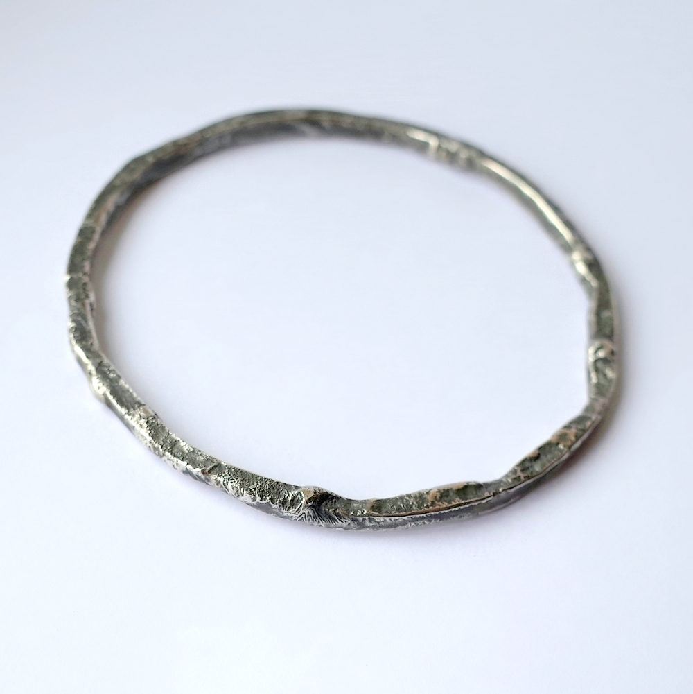 wholesale bracelet products bangle beaten bangles silver sterling square