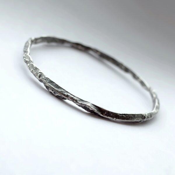 Rustic Triangle Bracelet