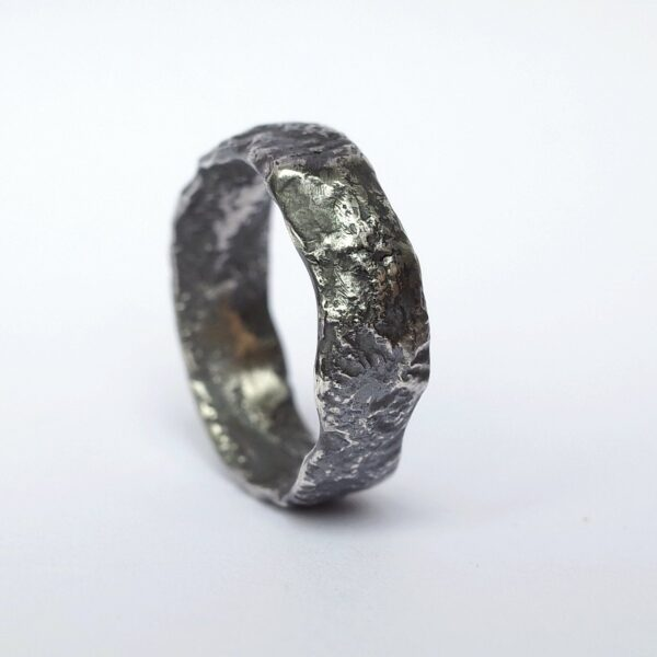 Wide Rustic Ring Size 10